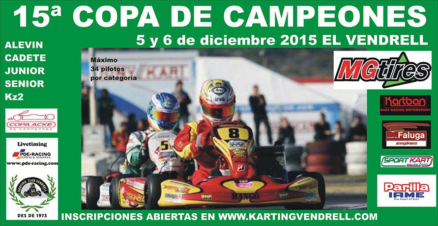 Copa de Campeones - Karting Vendrell