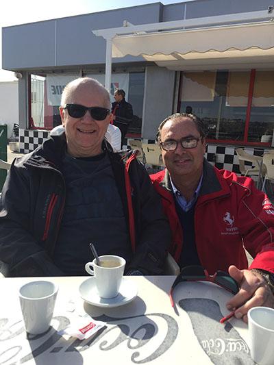 Lars Forsman en Karting Vendrell