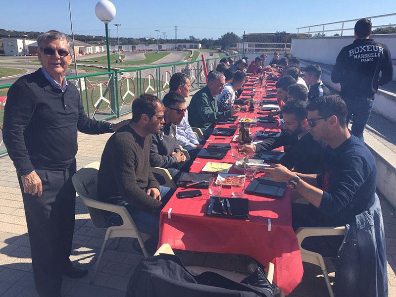 FC Barcelona B en Karting Vendrell - Comida y catering