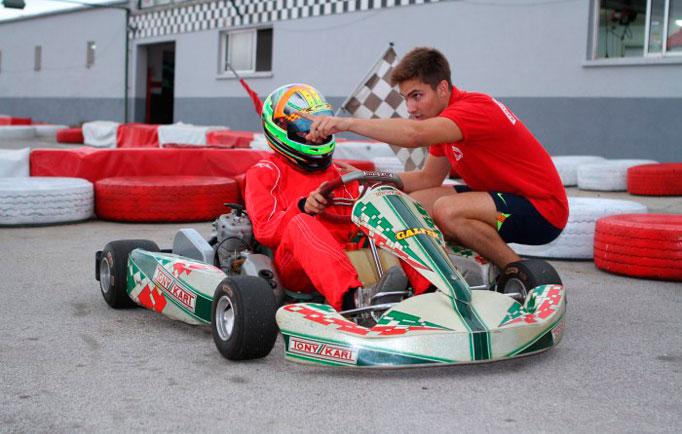 Escula de karting en Karting Vendrell