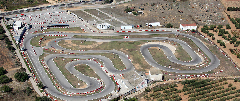 Karting Vendrell desde el aire
